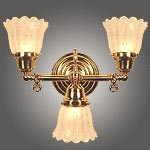 Model NS20 Electric Wall Sconce 3 Light Version